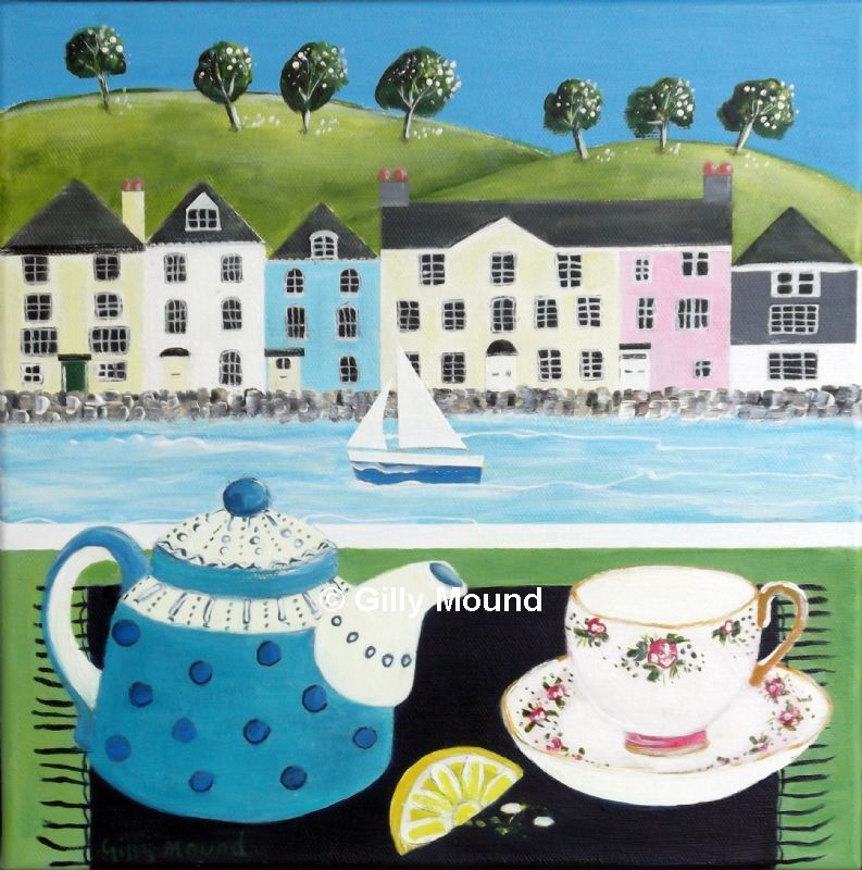 Tea at bayards Cove by Gilly Mound